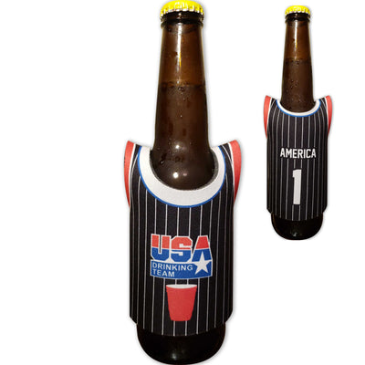 USA Drinking Team Jersey Can Cooler