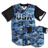 USA Baseball Jersey Camo (Blue)