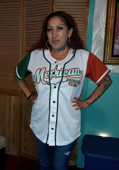 Mexican Drinking Team Baseball Jersey