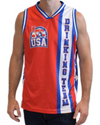 Retro USA Drinking Team Basketball Jersey