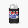 USA Drinking Team Logo Can Cooler