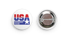 USA Drinking Team Button