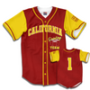 California Drinking Team Baseball Jersey