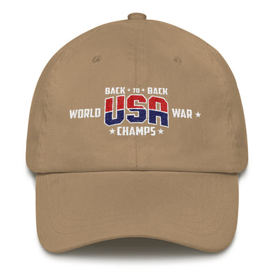 Back To Back Champs Dad Hat