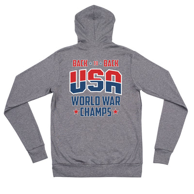 Back To Back Champs Zip Hoodie