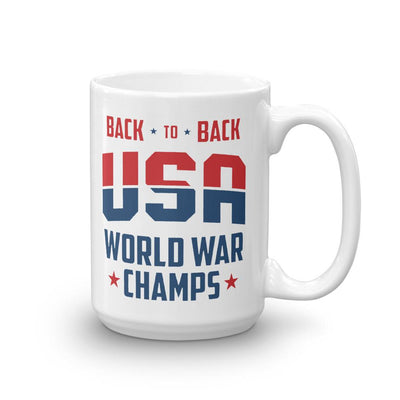 Back To Back Champs Coffee Mug