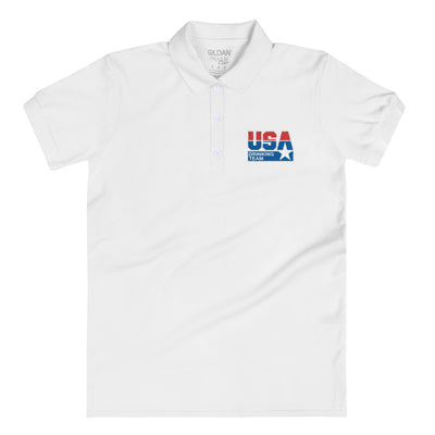 USA Drinking Team Logo Women's Polo