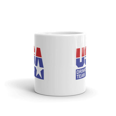USA Drinking Team Logo Coffee Mug