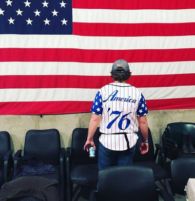 Vintage USA Drinking Team Baseball Jersey