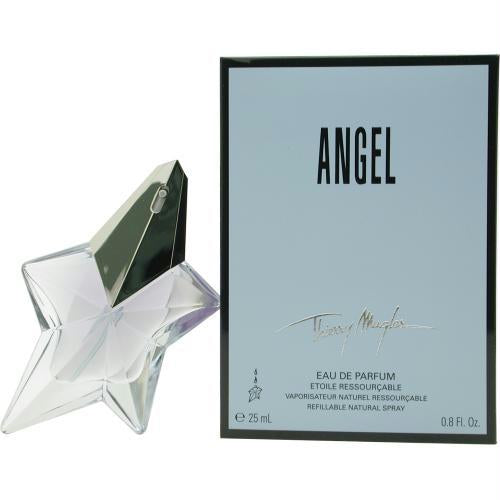 Angel By Thierry Mugler Eau De Parfum Spray Refillable .8 Oz