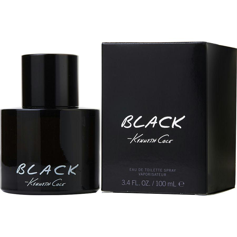 Kenneth Cole Black By Kenneth Cole Edt Spray 3.4 Oz