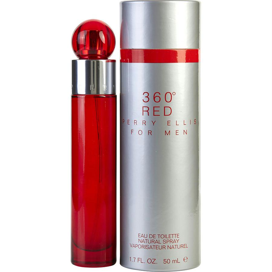 Perry Ellis 360 Red By Perry Ellis Edt Spray 1.7 Oz
