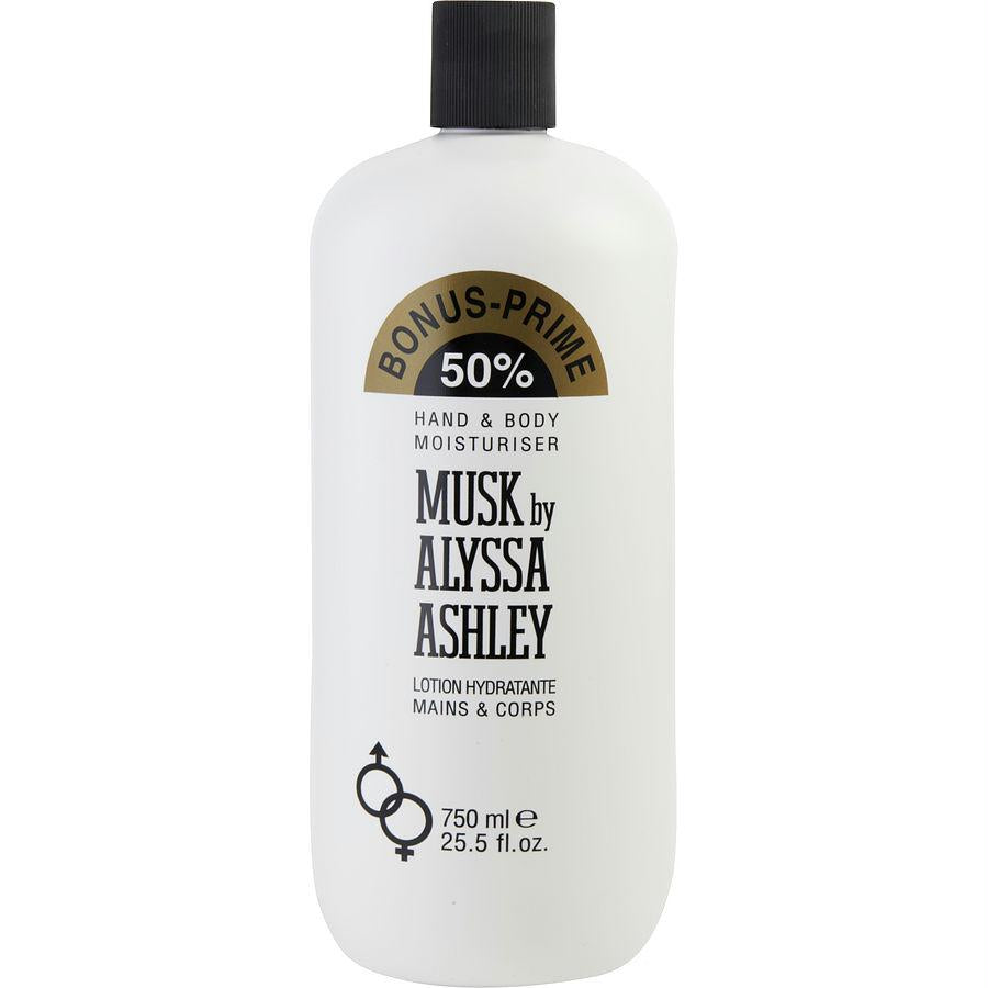 Alyssa Ashley Musk By Alyssa Ashley Hand And Body Lotion 25 Oz