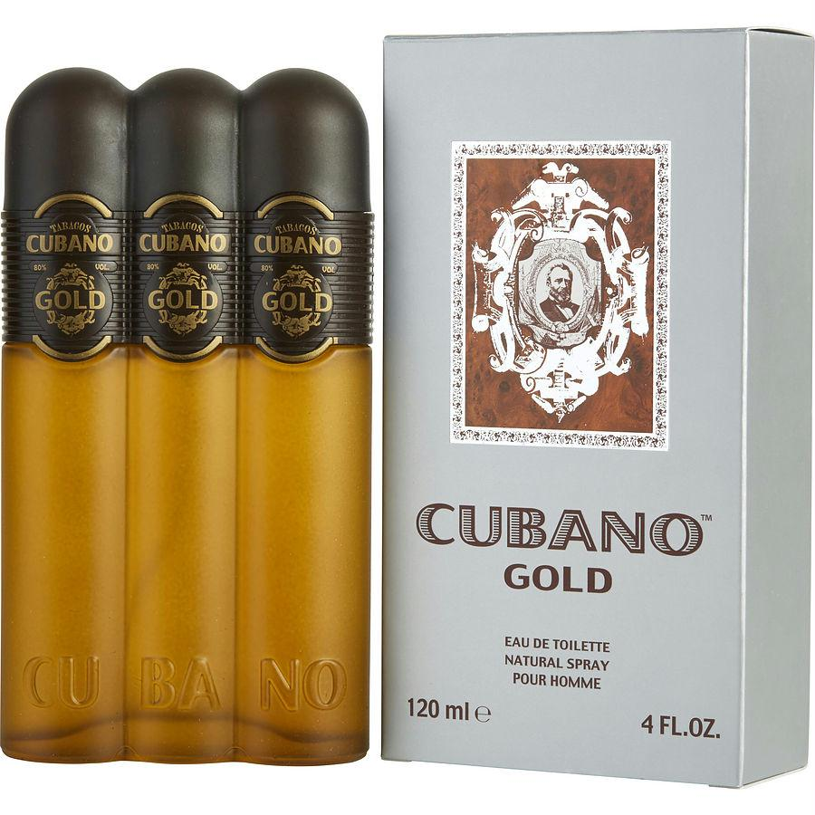Cubano Gold By Cubano Edt Spray 4 Oz