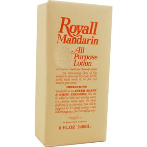 Royall Mandarin Orange By Royall Fragrances Aftershave Lotion Cologne 8 Oz