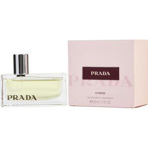 Prada By Prada Eau De Parfum Spray 1.7 Oz (amber)