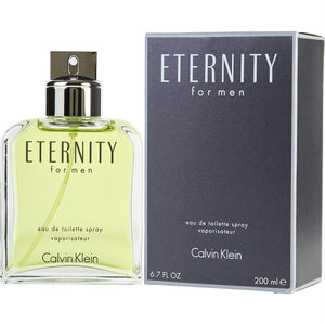 Eternity By Calvin Klein Edt Spray 6.7 Oz