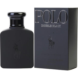 Polo Double Black By Ralph Lauren Edt Spray 2.5 Oz