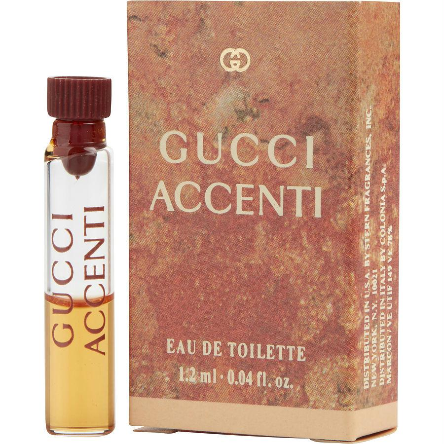 Accenti By Gucci Edt Vial On Card 0.04 Fl Oz