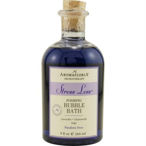 Aromafloria Foaming Bubble Bath 9 Oz Blend Of Lavender, Chamomile, And Sage By Aromafloria
