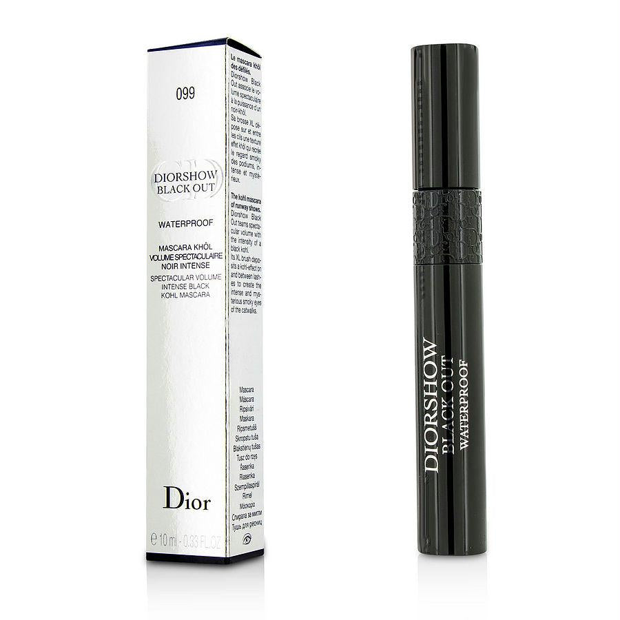 Christian Dior Diorshow Black Out Mascara Waterproof - # 099 Kohl Black --10ml-0.33oz By Christian Dior