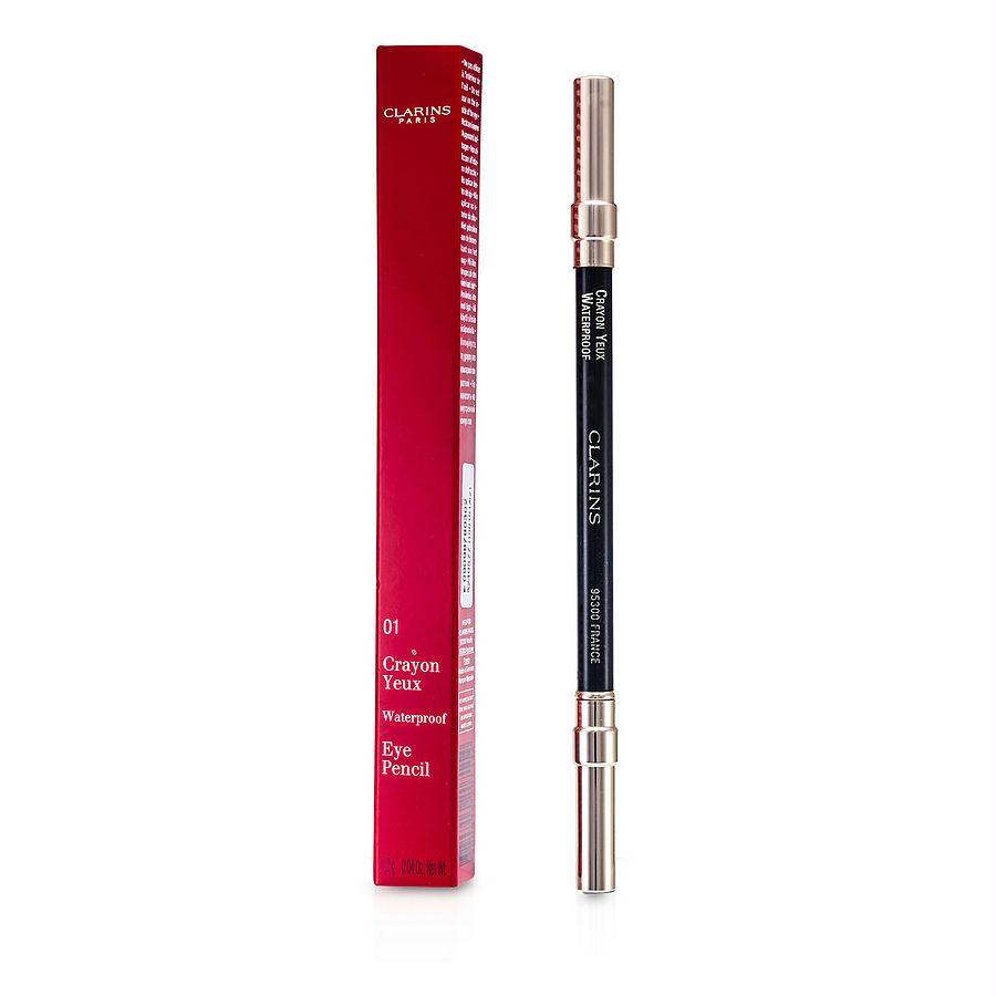 Clarins Waterproof Eye Pencil - # 01 Black --1.2g-0.04oz By Clarins