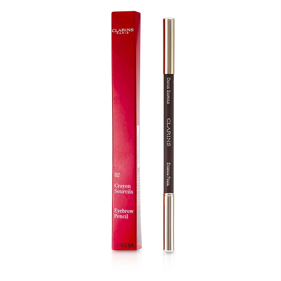 Clarins Eyebrow Pencil - #02 Light Brown --1.3g-0.045oz By Clarins