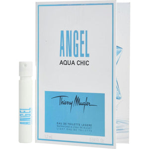 Angel Aqua Chic By Thierry Mugler Light Edt Spray Vial On Card