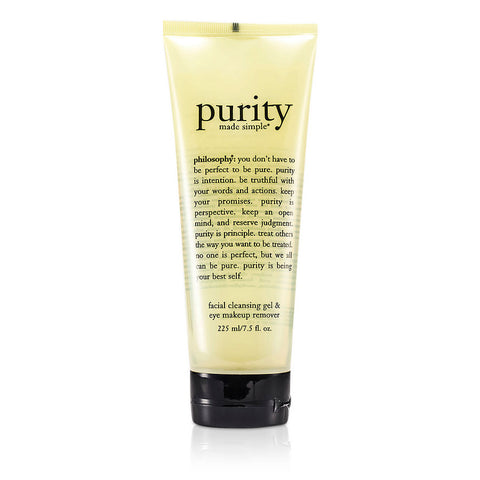 Purity Made Simple Facial Cleansing Gel & Eye Makeup Remover --225ml-7.5oz