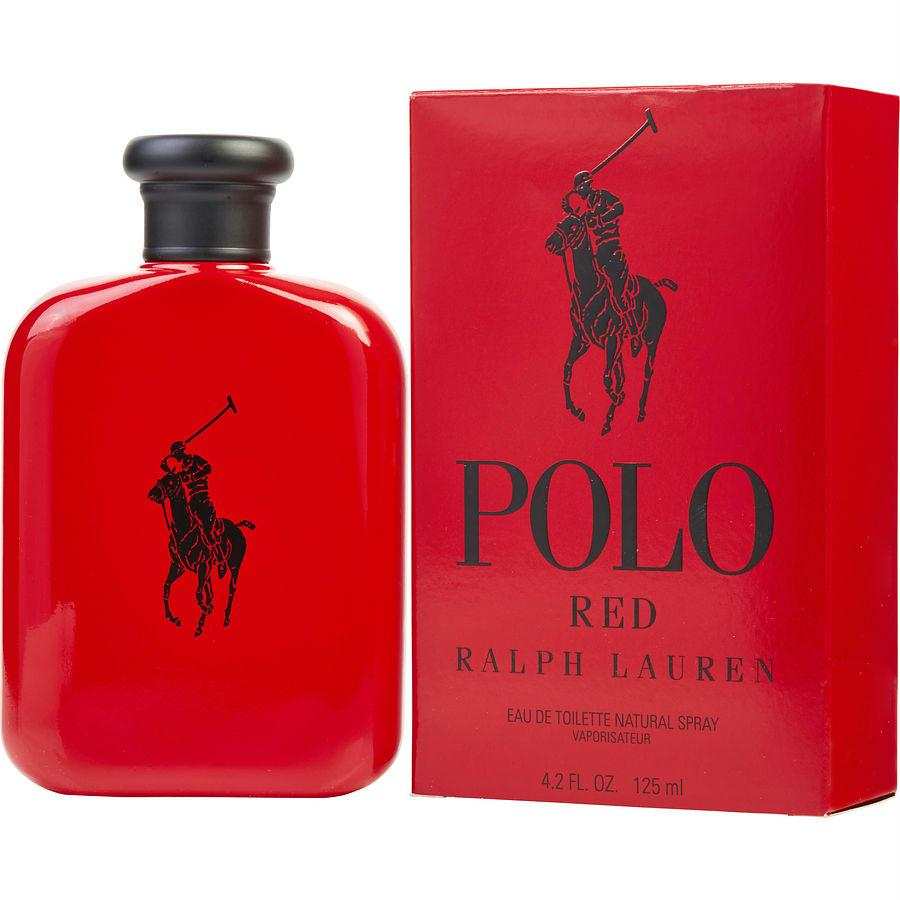 Polo Red By Ralph Lauren Edt Spray 4.2 Oz