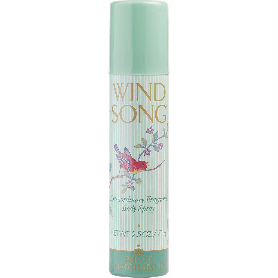 Wind Song By Prince Matchabelli Body Spray 2.5 Oz