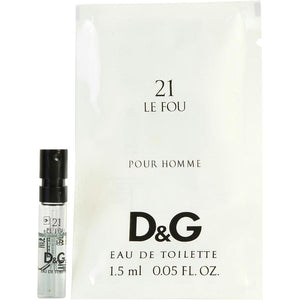 D & G 21 Le Fou By Dolce & Gabbana Edt Spray Vial