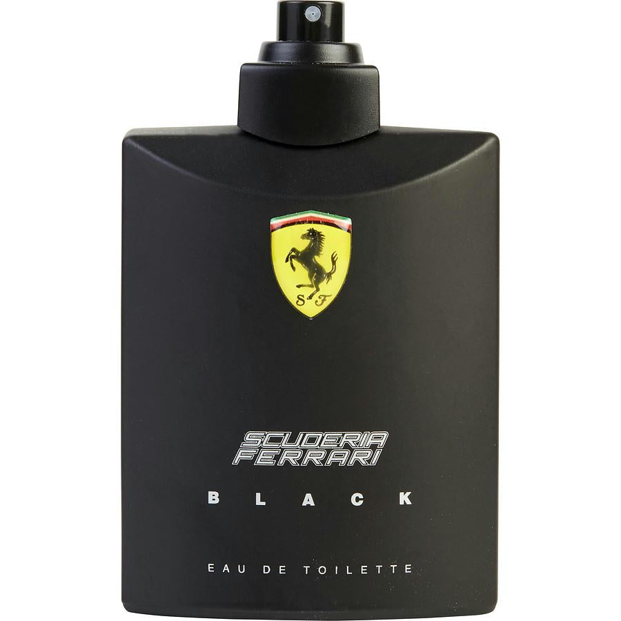Ferrari Scuderia Black By Ferrari Edt Spray 4.2 Oz *tester