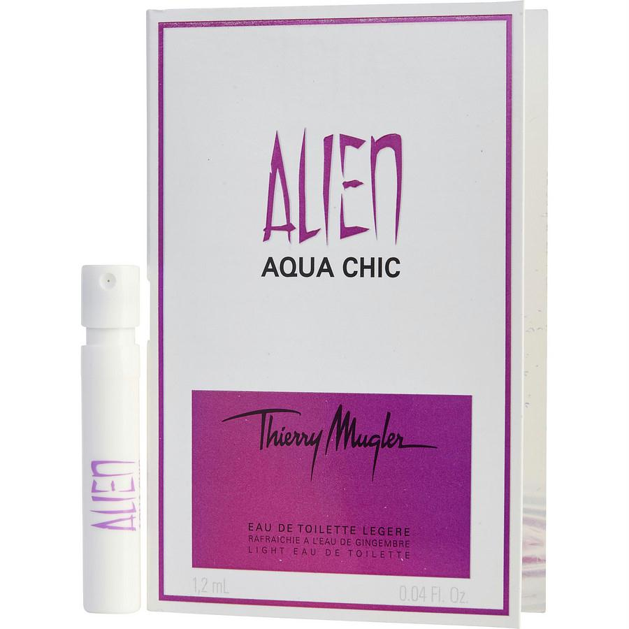 Alien Aqua Chic By Thierry Mugler Light Edt Spray Vial On Card