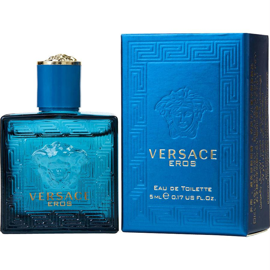 Versace Eros By Gianni Versace Edt .17 Oz Mini