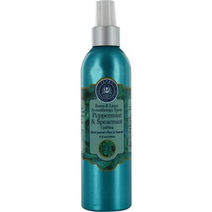 Room & Linen Peppermint & Spearmint Uplifting Aromatherapy Spray 8 Oz By Room & Linen