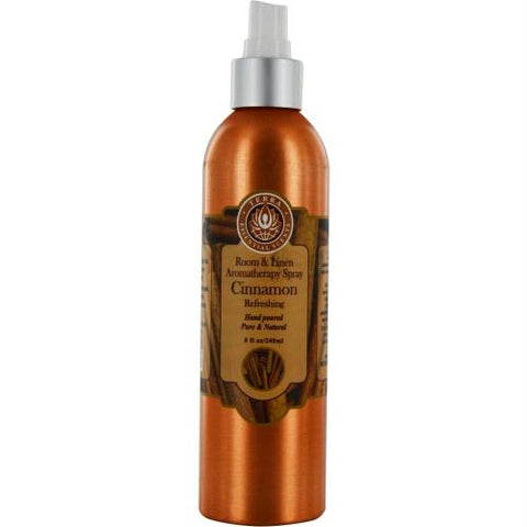 Room & Linen Cinnamon Refreshing Aromatherapy Spray 8 Oz By Room & Linen
