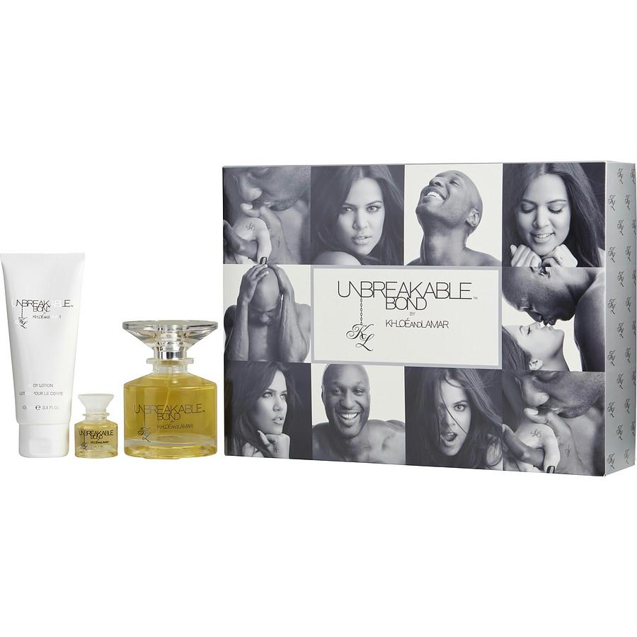 Khloe And Lamar Gift Set Unbreakable Bond By Khloe And Lamar By Khloe And Lamar