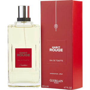 Habit Rouge By Guerlain Edt Spray 6.7 Oz
