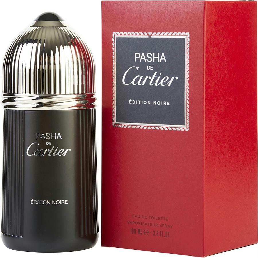 Pasha De Cartier Edition Noire By Cartier Edt Spray 3.3 Oz