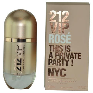 212 Vip Rose By Carolina Herrera Eau De Parfum Spray 1.7 Oz