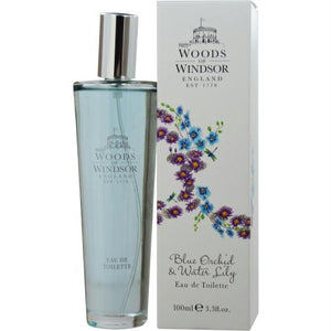 Woods Of Windsor Blue Orchid & Water Lily By Woods Of Windsor Edt Spray 3.4 Oz