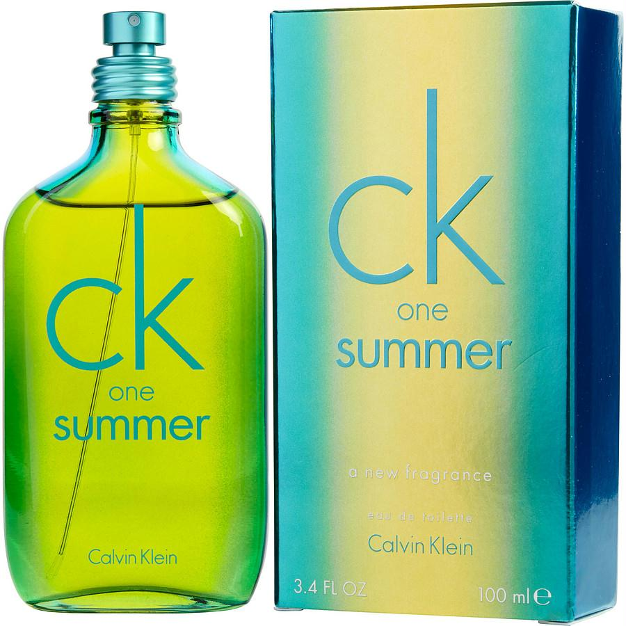 Ck One Summer By Calvin Klein Edt Spray 3.4 Oz (limited Edition 2014)