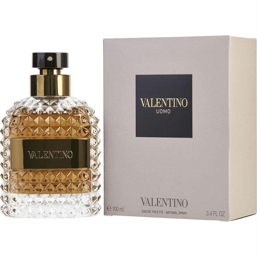 Valentino Uomo By Valentino Edt Spray 3.4 Oz