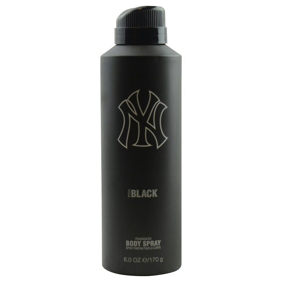 Ny Yankees Pitch Black By New York Yankees Body Spray 6 Oz