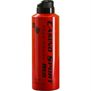 Casino Sport Red By Casino Parfums Body Spray 6 Oz
