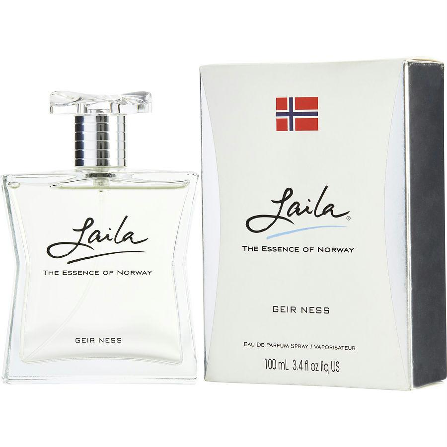 Laila By Geir Ness Eau De Parfum Spray 3.4 Oz (new Packaging)
