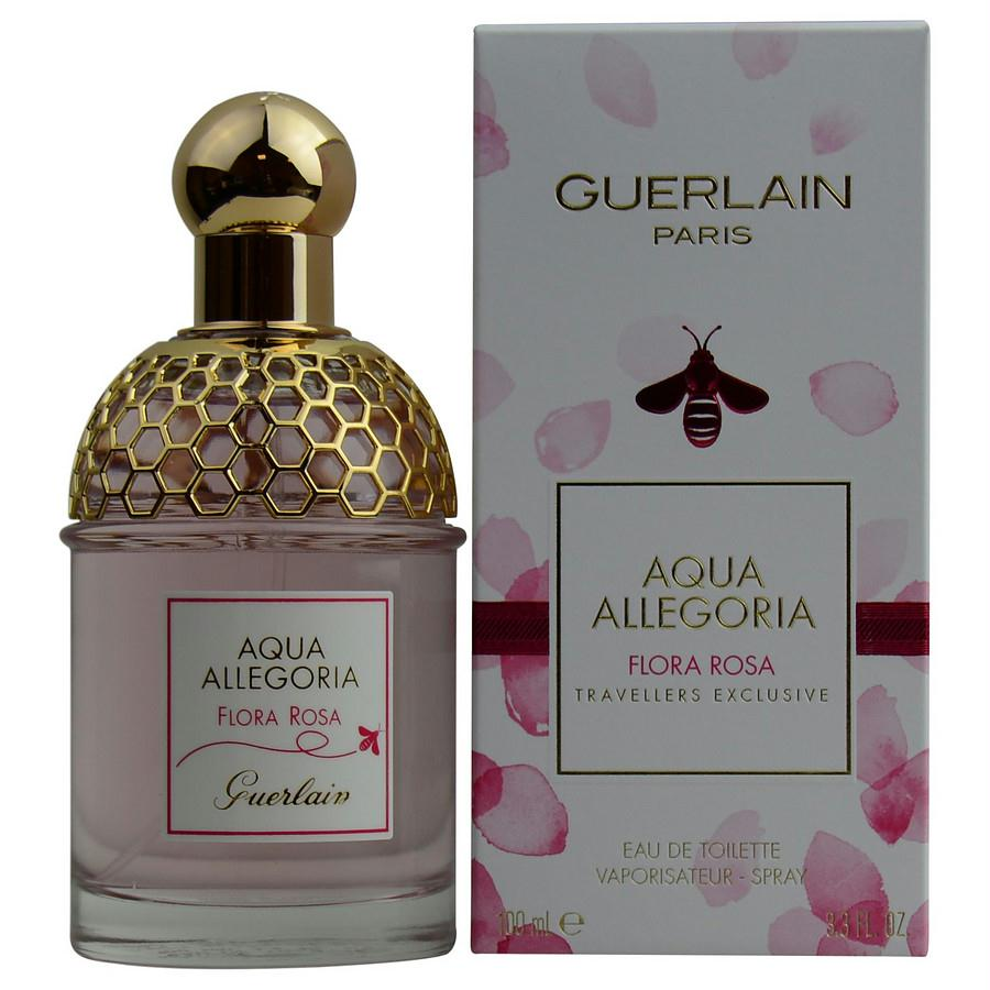 Aqua Allegoria Flora Rosa By Guerlain Edt Spray 3.3 Oz