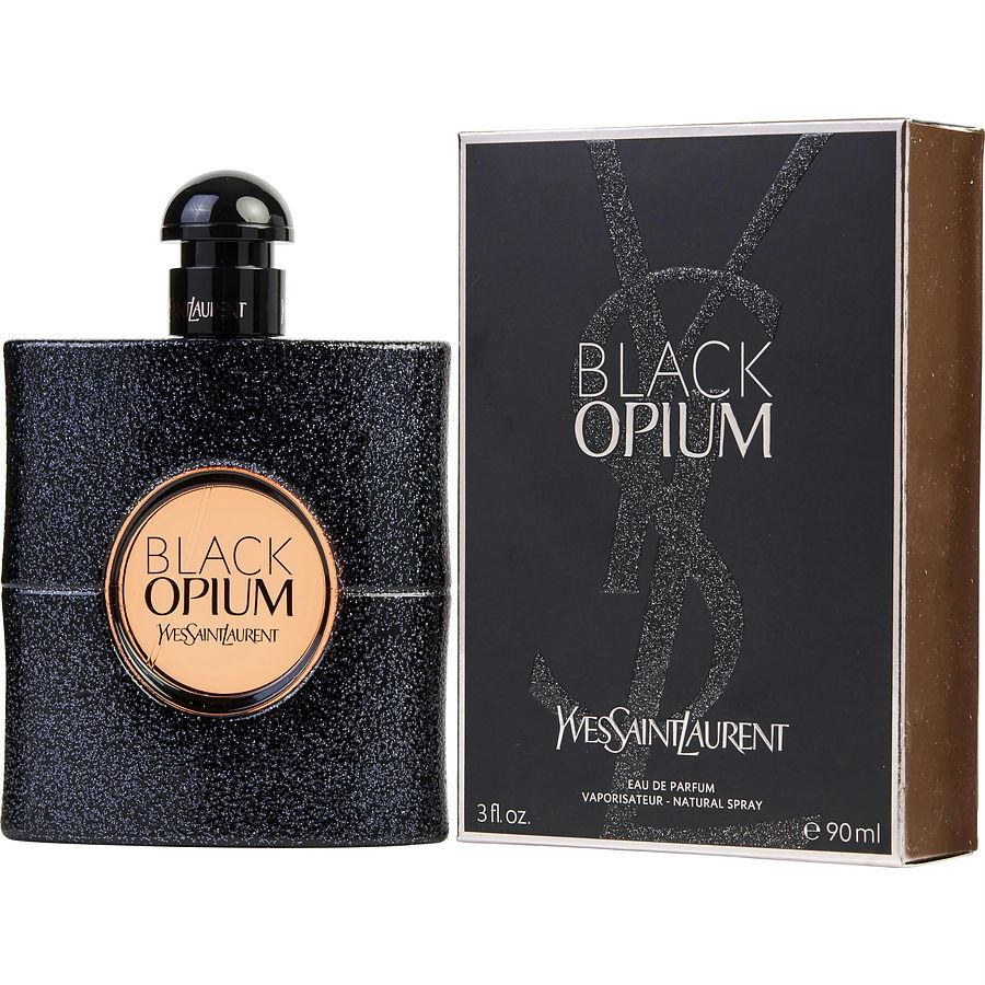 Black Opium By Yves Saint Laurent Eau De Parfum Spray 3 Oz