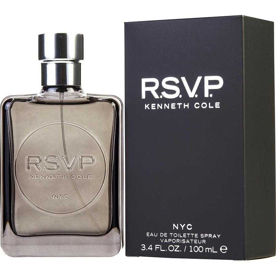 Kenneth Cole Rsvp By Kenneth Cole Edt Spray 3.4 Oz (new Packaging)